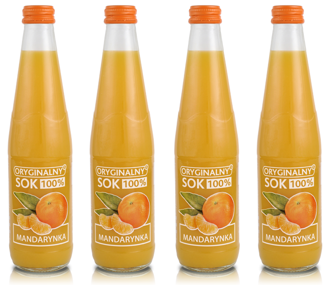soki 300 ml mandarynka