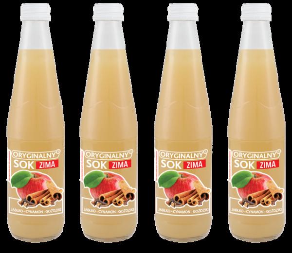 soki 300 ml jabłko goździk cynamon
