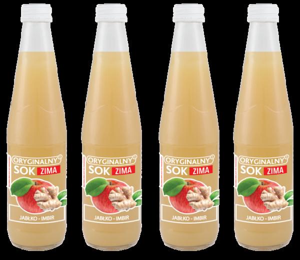 soki 300 ml jabłko imbir