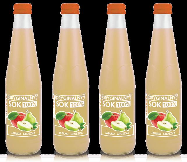 soki 300 ml jabłko gruszka