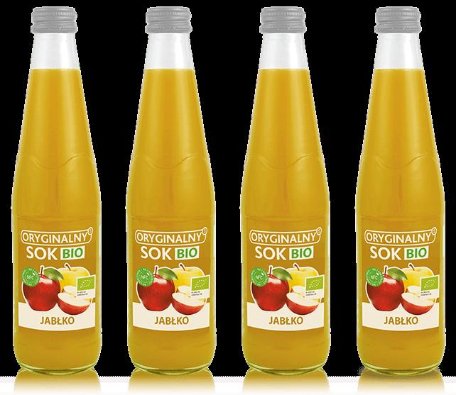 soki 300 ml Vege jabłko granat